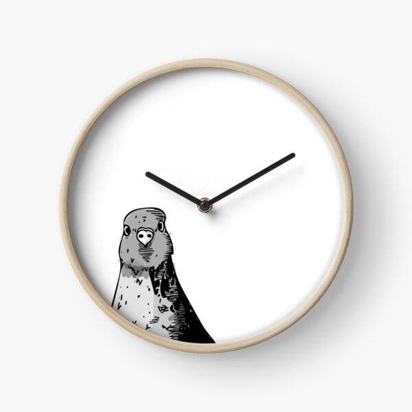 Dumb Birds Clock