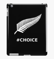 All Blacks Choice Fern iPad Case/Skin