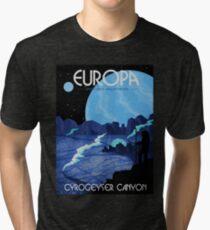 Europa Tourism Poster Tri-blend T-Shirt