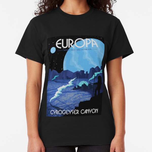 Europa Tourism Poster Classic T-Shirt