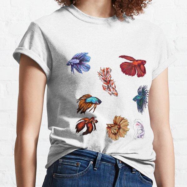 Betta fishes Classic T-Shirt