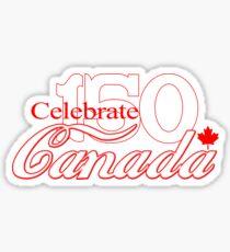 Celebrate Canada 150 Sticker