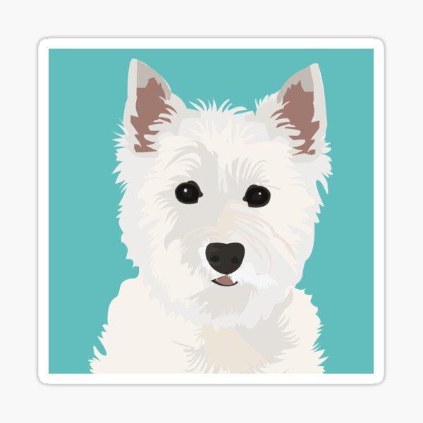 Westie Design Sticker