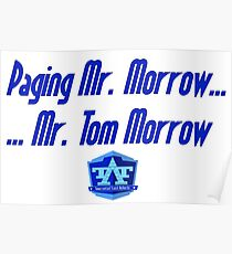 Mr. Tom Morrow Poster