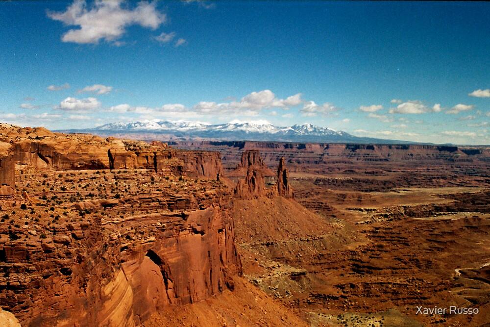 Moab desert by Xavier Russo