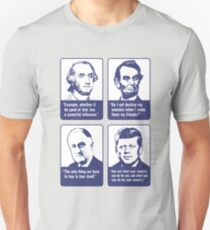Inspirational Presidential Quotes T-Shirt