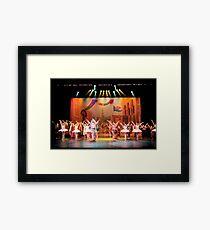 Aladdin Group Stage Photo Framed Print
