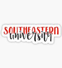Southeastern University - Style 1 Sticker