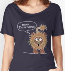 Moo. I'm a horse Women's Relaxed Fit T-Shirt