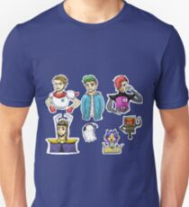 YouTubers as Undertale Characters Unisex T-Shirt