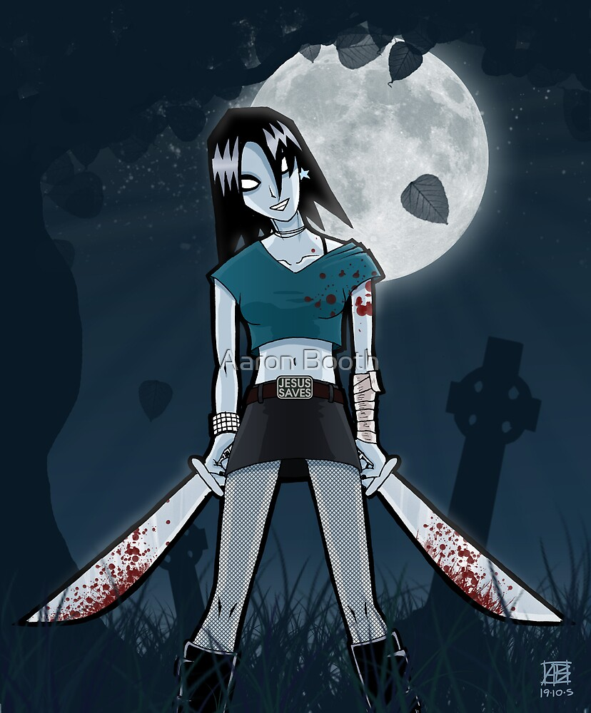 Mandy, the Indie Rock Zombie by Aaron Booth
