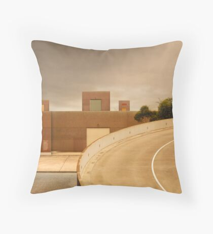 factory expressway Throw Pillow
