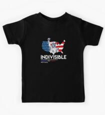 Indivisible: Liberal Anti Trump Movement Kids Tee