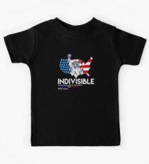 Unteilbar: Liberale Anti-Trump-Bewegung Kinder T-Shirt