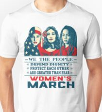 women's march 2017 Unisex T-Shirt