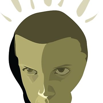 Eleven - Stranger Things by martianart