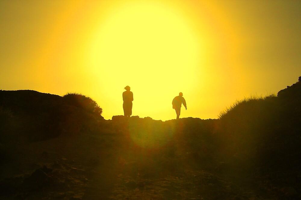 Treking the sun by HamRadio