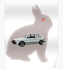 RABBIT GTI Poster