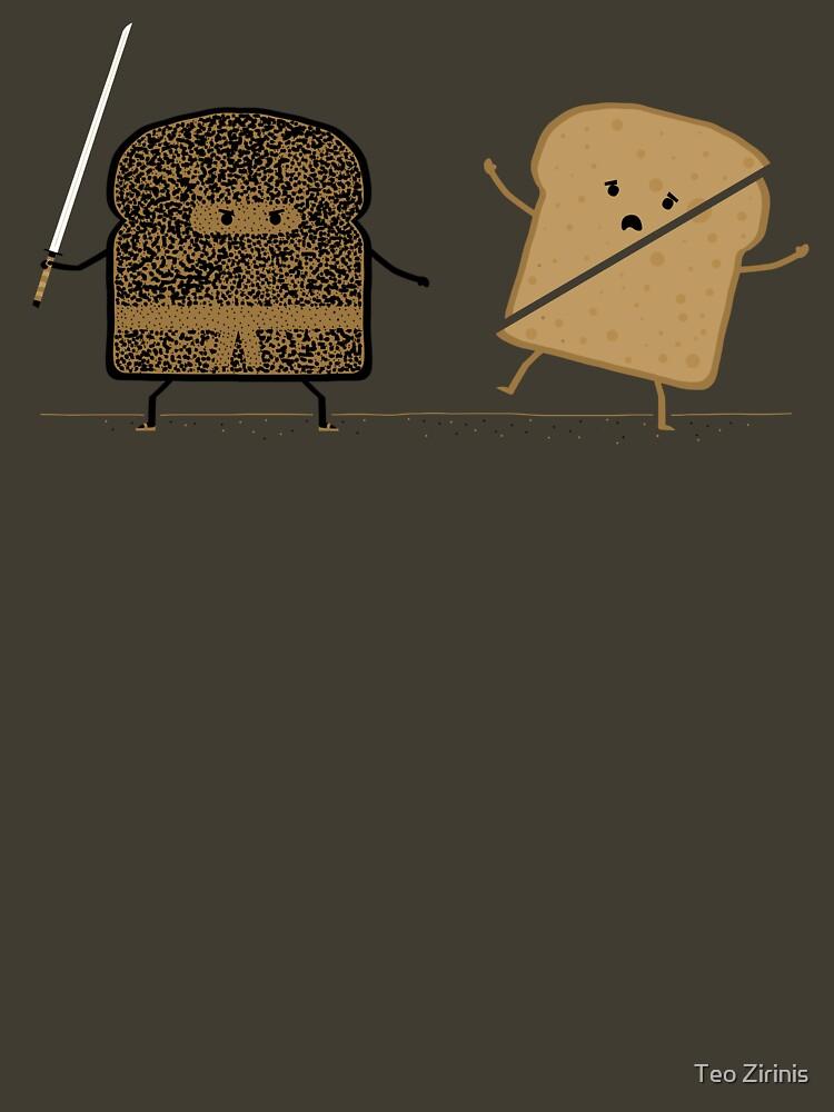 Ninja Toast by theodorezirinis