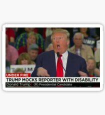 disgusting scumpbag trump Sticker