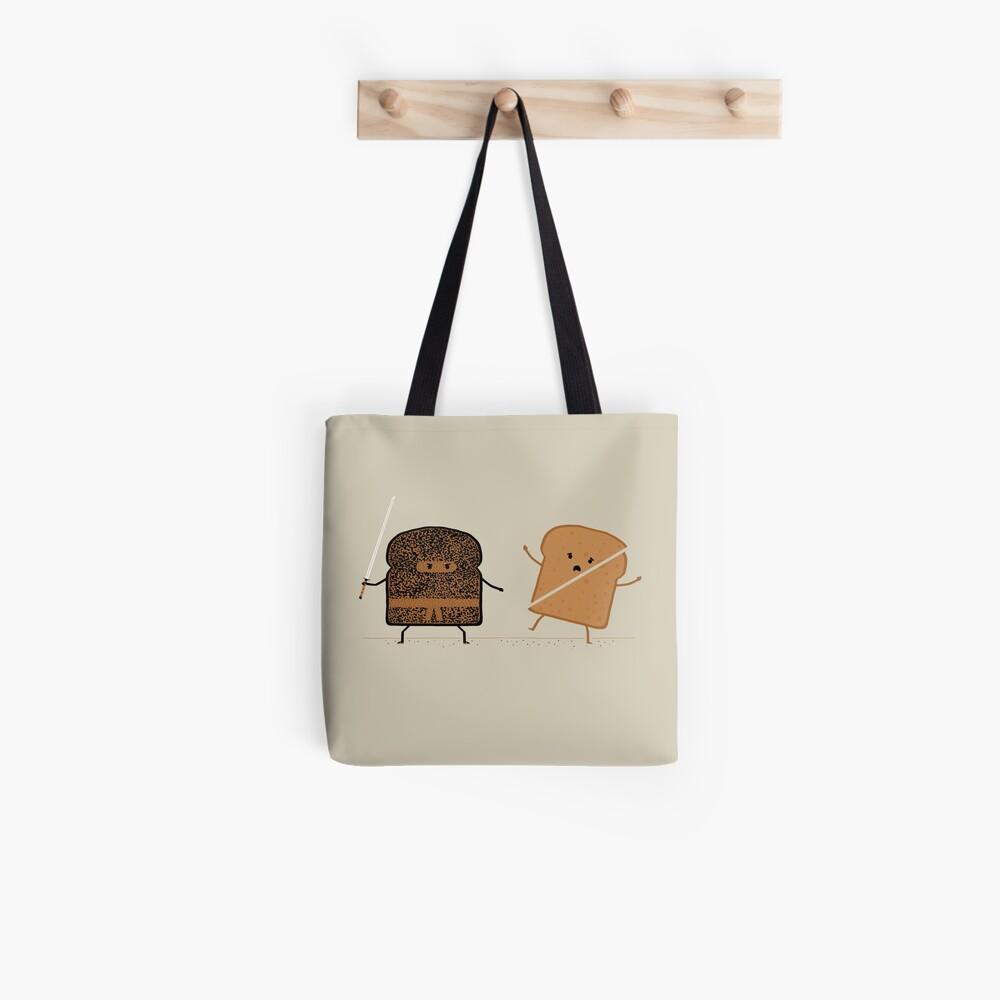 Ninja Toast Tote Bag