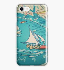 Sailing Gulf of Mexico iPhone Case/Skin