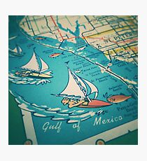 Sailing Gulf of Mexico Photographic Print