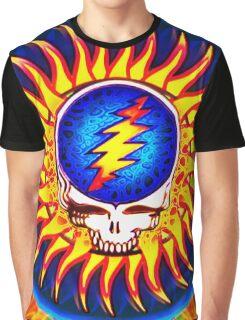 Sunburst Summer Grateful Dead Tribute Graphic T-Shirt