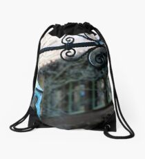 Old-Style Streetlight Drawstring Bag