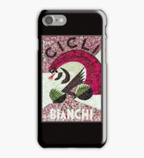 BICYCLE; Vintage Bianchi Mosaic Print iPhone Case/Skin