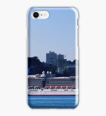 Cruise Liner In San Francisco iPhone Case/Skin