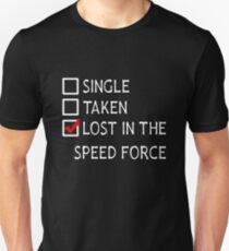 Lost in the Speed Force - v1 Unisex T-Shirt
