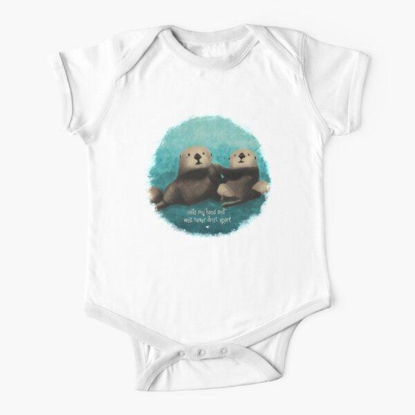 Moniery Cartoon Sea Otters Short Sleeve T-Shirt Baby Boy Toddler
