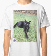 Black Cat Millie Classic T-Shirt