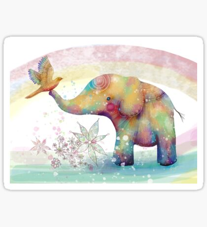 The Indigo Elephant Sticker
