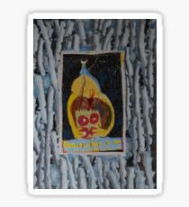 Doughnuts - Abstract Outsider Art Sticker