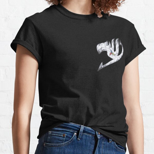 Fairy Tail logo personnalisé T-shirt classique