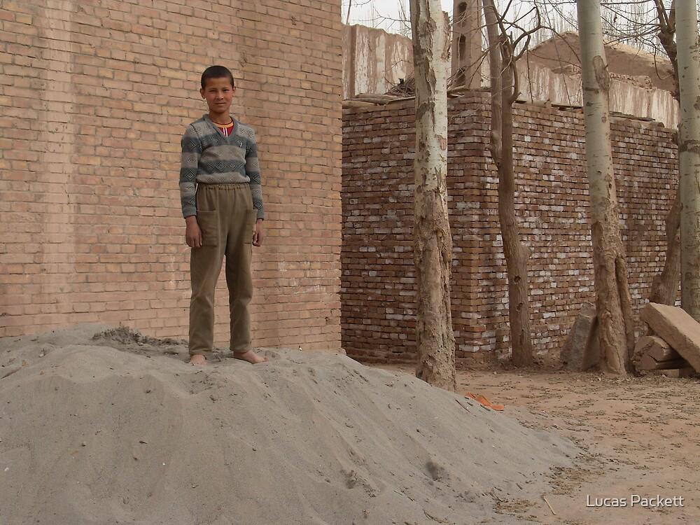 Kashgar, Boy by Lucas Packett