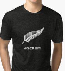 All Blacks Scrum Fern Tri-blend T-Shirt