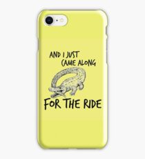 CATFISH AND THE BOTTLEMEN THE RIDE (OUTSIDE) iPhone Case/Skin