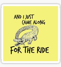 CATFISH AND THE BOTTLEMEN THE RIDE (OUTSIDE) Sticker