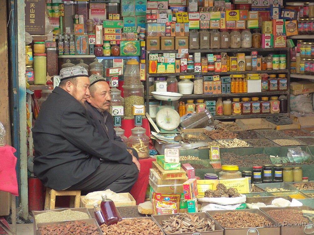 Kashgar, Old City, Store by Lucas Packett