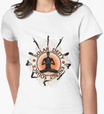 Surya Namaskar Women's Fitted T-Shirt