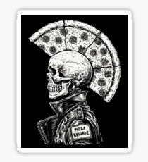 Pizza Punk Sticker