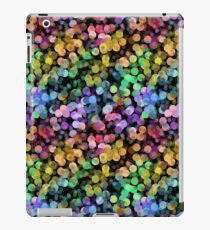 Rainbow Circles Colorful Abstract Bubbles Pattern iPad Case/Skin