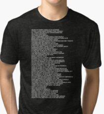 Truisms Tri-blend T-Shirt