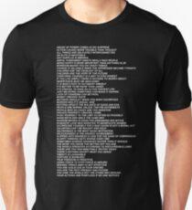 Truisms Unisex T-Shirt