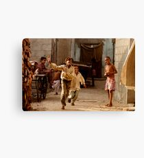 In the streets we play Canvas Print