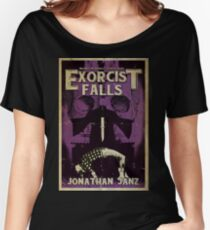 Sinister Grin Press Exorcist Falls  Women's Relaxed Fit T-Shirt