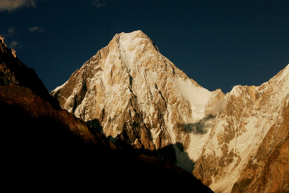 Gasherbrum IV by Jacob Simkin